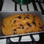 Gluten Free Vegan Carob Chip Pumpkin Bread